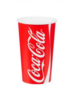 16oz 'Coke' Cold Drink Cup 400ml