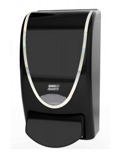 Washroom Transparent Black 1L Dispenser