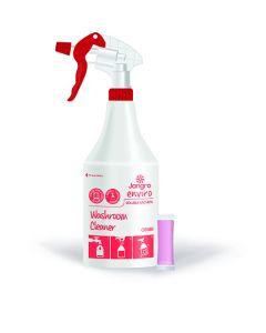 Complete Unit - Trigger Bottle, Trigger Head and Washroom Cleaner Sachet