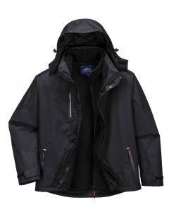 3 in 1 Radial Jacket Black Size S