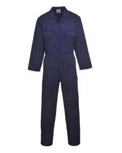 Euro Workwear Coverall, Navy 2XL