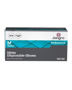 Nitrile Disposable Glove, Powder Free, Blue, Medium