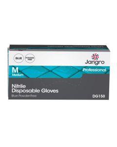 Professional Nitrile Disposable Glove - Powder Free, Blue, Medium