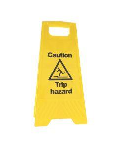 Caution Trip Hazard A Frame