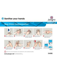 Sanitise Your Hands Guide (A4)